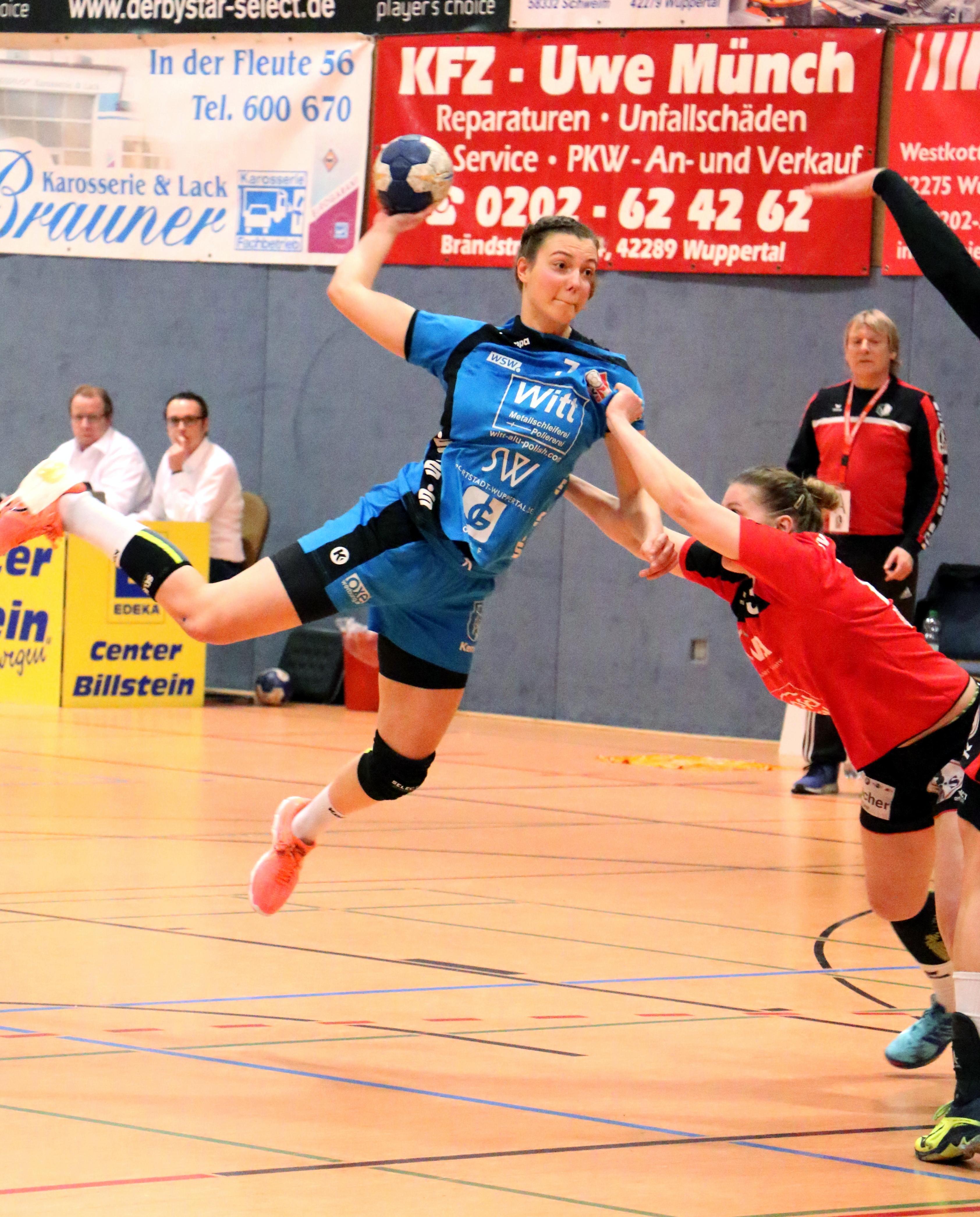 WZ-Sportlerin der Woche - Ramona Ruthenbeck - Beyeröhder Handballgirls